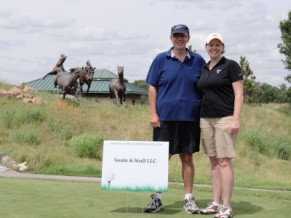 Soule & Stull sponsored a hole at Minnesota American Indian Bar Association Scholarship Golf Tournament in July 2014.