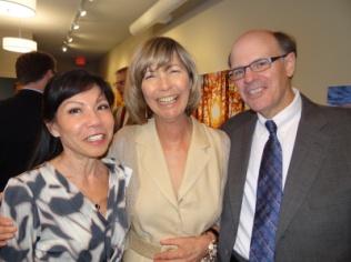 Judge Regina Chu, Lisa and George.