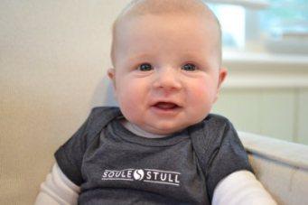 Lucas sports new Soule & Stull apparel.