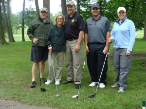 The Soule & Stull Team with Hennepin County Sheriff Rich Stanek